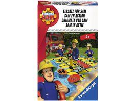 Ravensburger Spiel Feuerwehrmann Sam Mitbringspiel Einsatz fuer Sam
