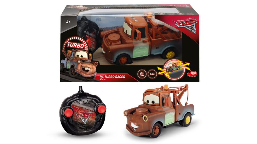 Dickie Cars 3 RC Mater Hook 1 24