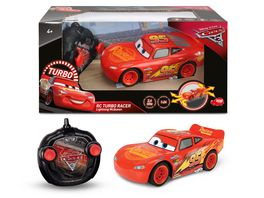 Dickie Cars 3 RC Lightning McQueen 1 24