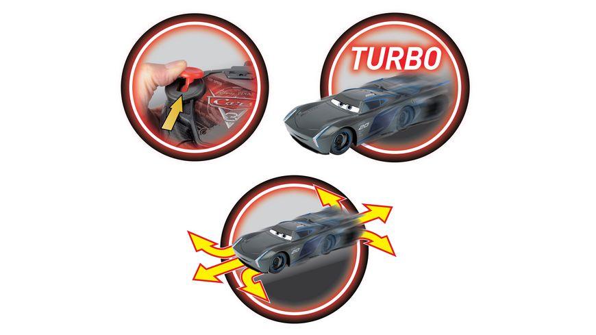 Dickie Cars 3 RC Turbo Racer Jackson Storm 1 24