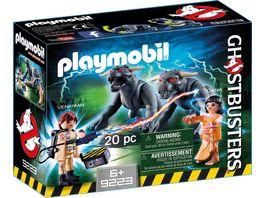PLAYMOBIL 9223 Ghostbusters Venkman und Terror Dogs
