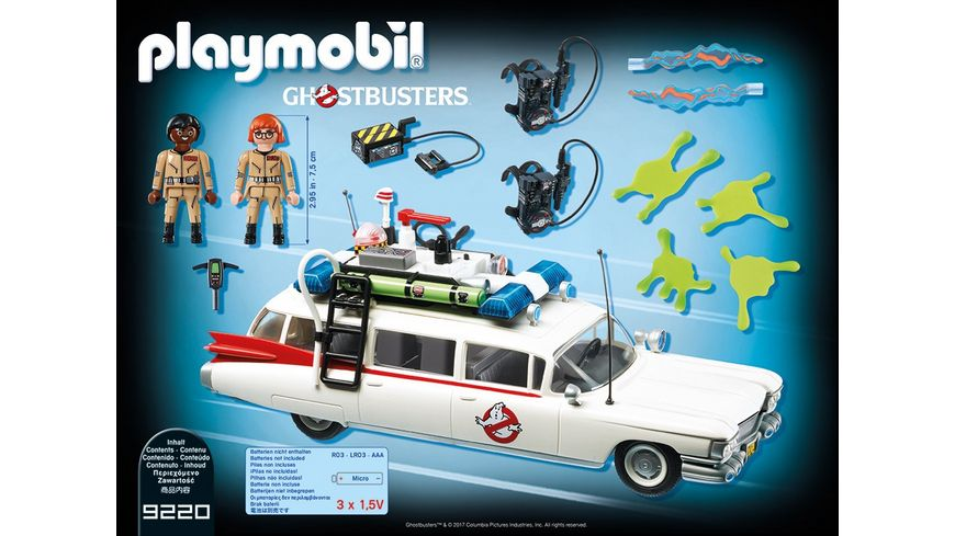 PLAYMOBIL 9220 Ghostbusters Ecto 1