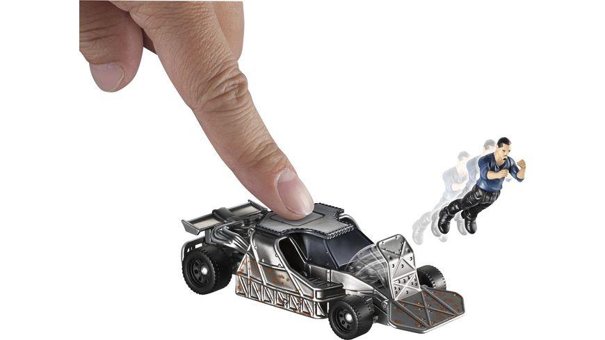 Mattel Fast Furious Stunt Stars Hobbs und Navistar MXT Owen Shaw u Flip Car