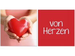la vida Serviette Von Herzen 20 Stk