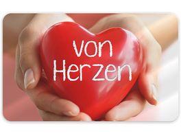 Geschenk fuer dich Brettchen von Herzen