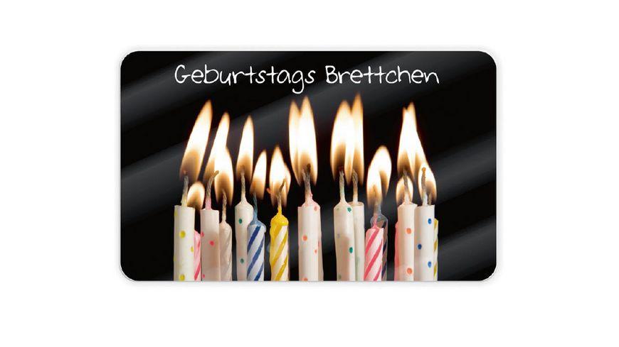 Geschenk fuer dich Brettchen Geburtstag
