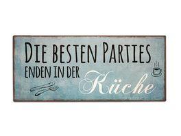 Geschenk fuer dich Schild Kuechenparties 30 5x13 cm