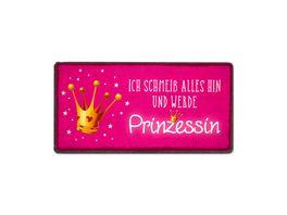 Geschenk fuer dich Magnet Prinzessin 10x5 cm