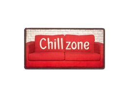 Geschenk fuer dich Magnet Chillzone 10x5 cm