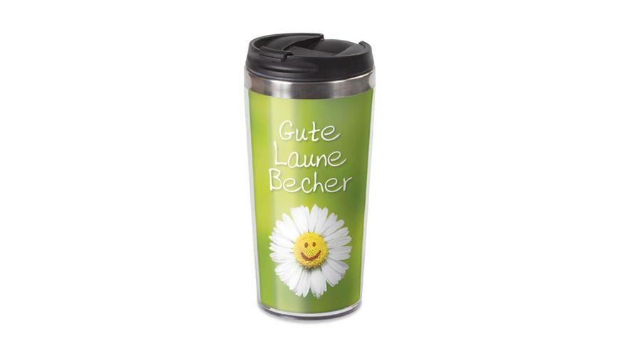 Geschenk fuer dich Thermobecher Gute Laune 450 ml