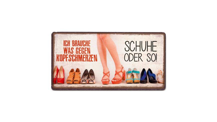 Geschenk fuer dich Schuhe 10x5 cm