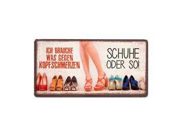 Geschenk fuer Dich Magnet Schuhe 10x5 cm
