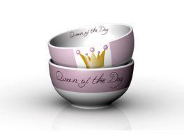 Geschenk fuer dich Schaelchen Queen of the Day