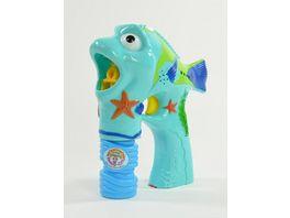 Koegler Seifenblasenpistole Fishy Fisch mit Licht und Geraeusch 2 fach sortiert