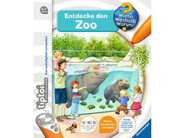 Ravensburger tiptoi Entdecke den Zoo