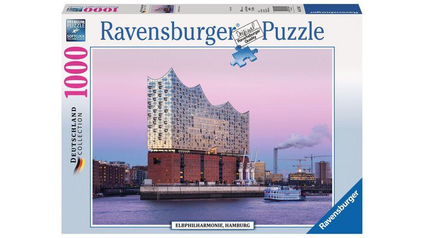 Ravensburger Puzzle Elbphilharmonie Hamburg 1000 Teile