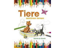 Buch EDITION XXL Tiere zeichnen lernen