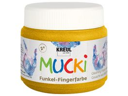 MUCKI Funkel Fingerfarbe Goldschatz