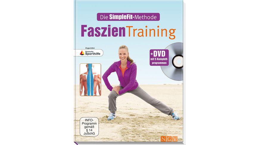 Buch Naumann und Goebel Faszien Training DVD mit 5 Komplettprogrammen
