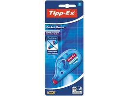 Tipp Ex Pocket Mouse Korrekturroller mit Bandschutzkappe