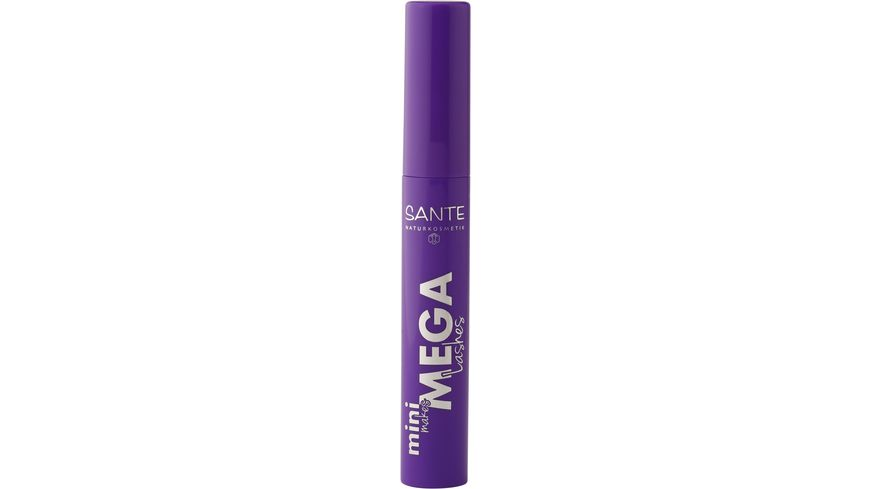 SANTE Mascara Mini Makes Mega Lashes 01 Black