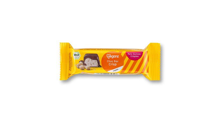 BIO Veganz Choc Bar Crisp