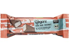 BIO Veganz Choc Bar Coconut