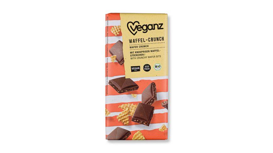 Veganz BIO Rice Choc Waffel-Crunch