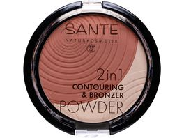 SANTE 2in1 Contouring Bronzer Powder