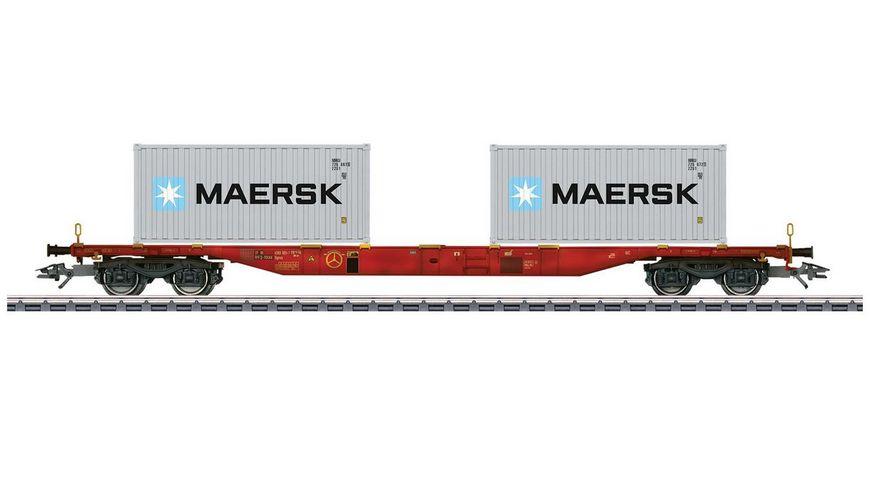 Maerklin 47059 Container Tragwagen Bauart Sgnss