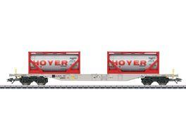 Maerklin 47064 Container Tragwagen Bauart Sgnss 114