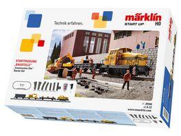 Maerklin 29184 Maerklin Start up Startpackung Baustelle 230 Volt