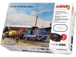 Maerklin 29468 Digital Startpackung Schwedischer Gueterzug Epoche VI 230 Volt