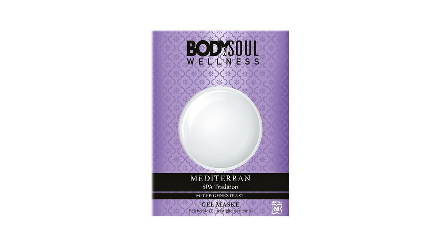BODY SOUL Gel Maske Mediterran Spa Tradition