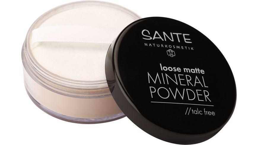 SANTE Loose Matte Mineral Powder