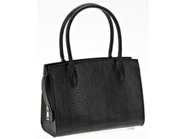Handtasche Croco Optik