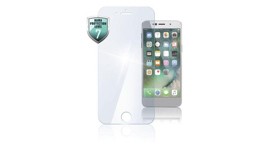 Schutzglas fuer Apple iPhone 7 8