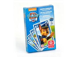 ASS Altenburger 2 in 1 Paw Patrol Quartett und Action Spiel