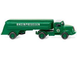 WIKING 0800 49 Tanksattelzug Magirus S 3500 Rheinpreussen