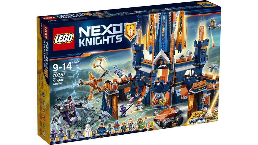 LEGO Nexo Knights 70357 Schloss Knighton