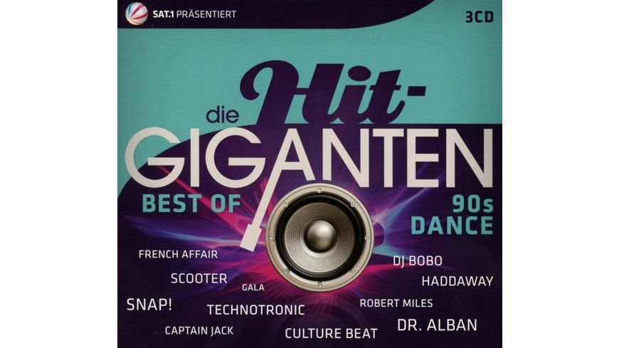 Die Hit Giganten Best of 90 s Dance