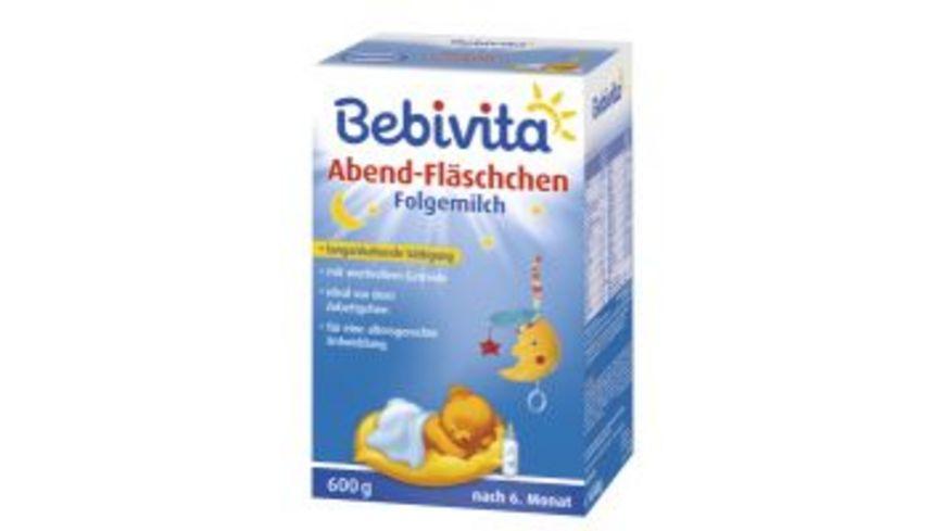 Bebivita Milchnahrung Abend Flaeschchen