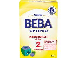 Nestle BEBA OPTIPRO Kindermilch ab dem 2 Geburtstag