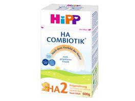 HiPP Bio Milchnahrung HA2 Combiotik 600g