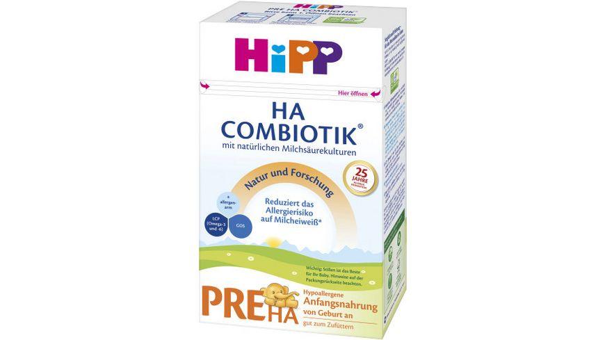 HiPP Milchnahrung PRE HA Combiotik