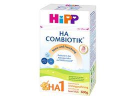 HiPP Milchnahrung Hypoallergene Anfangsnahrung 1 Combiotik