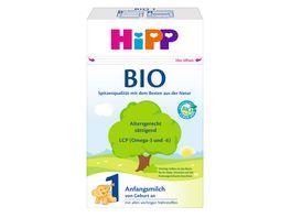 HiPP Milchnahrung Bio Bio Anfangsmilch 600g von Geburt an
