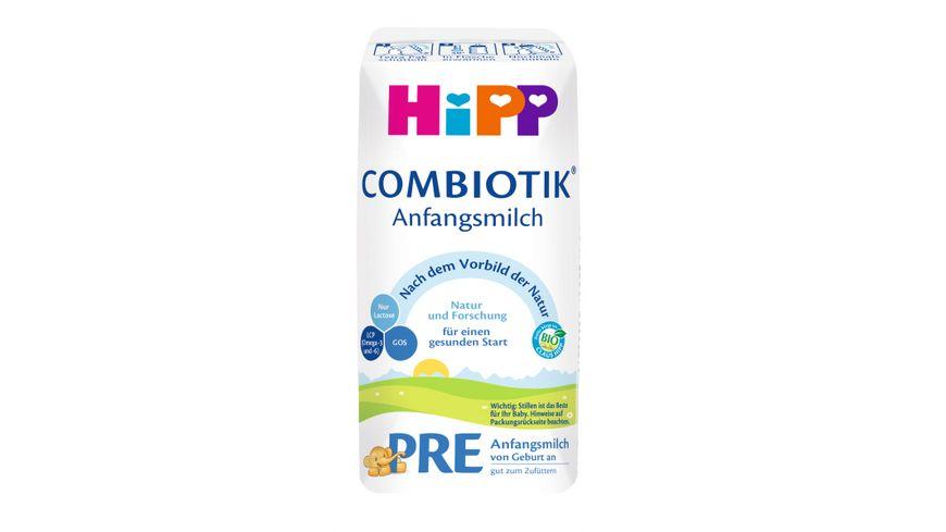 HiPP Milchnahrung Combiotik: HiPP Pre Bio Combiotik 600g, von Geburt an