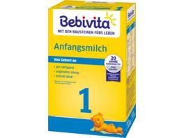 Bebivita 1 Anfangsmilch 500g von Geburt an