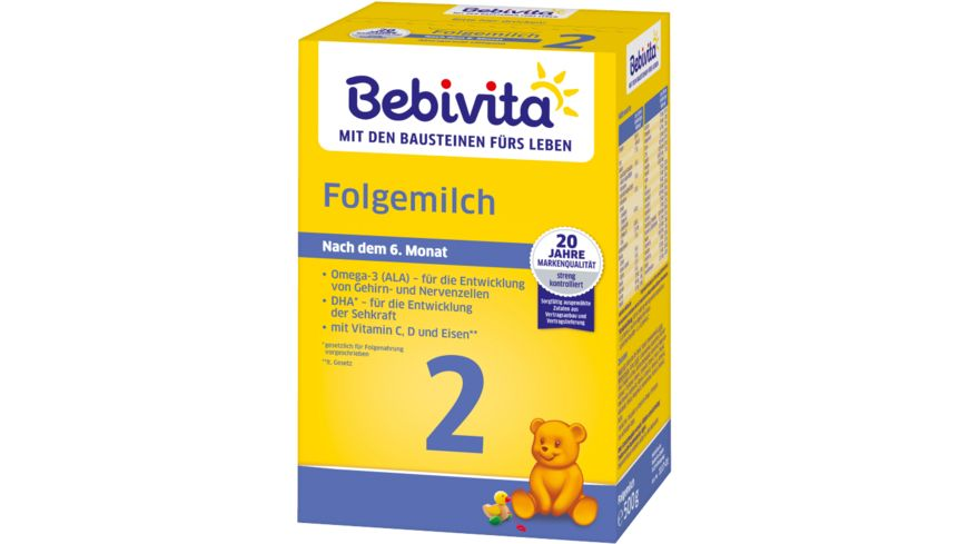Bebivita Milchnahrung 2 Folgemilch